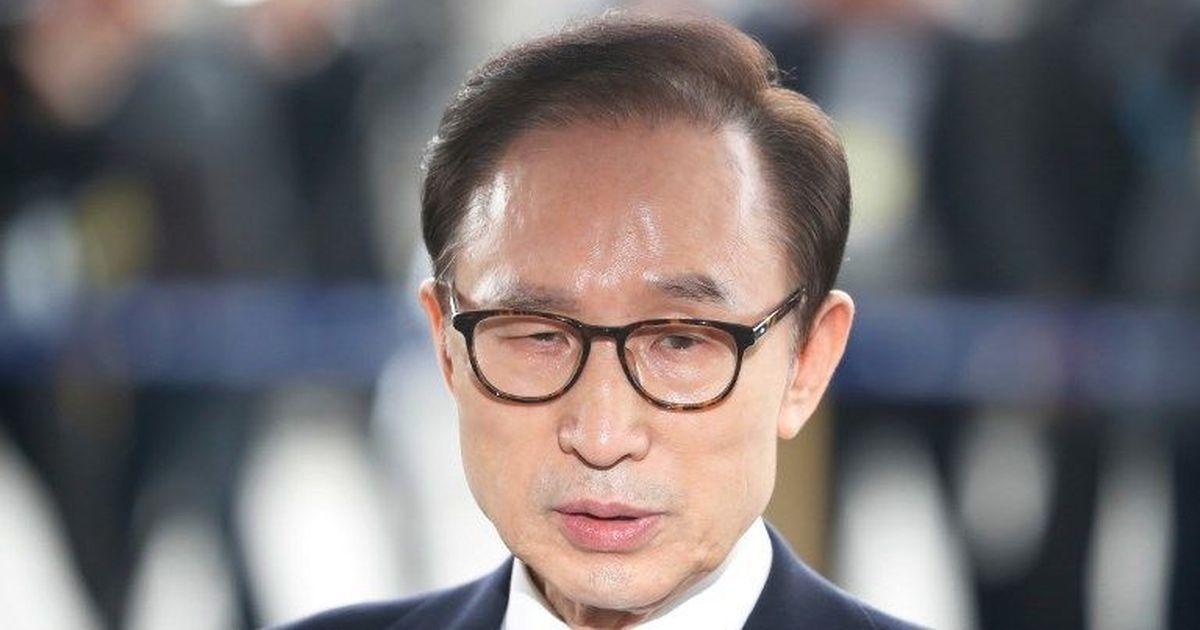 Former South Korean President Lee Myung-bak sentenced to 15 years in jail for corruption