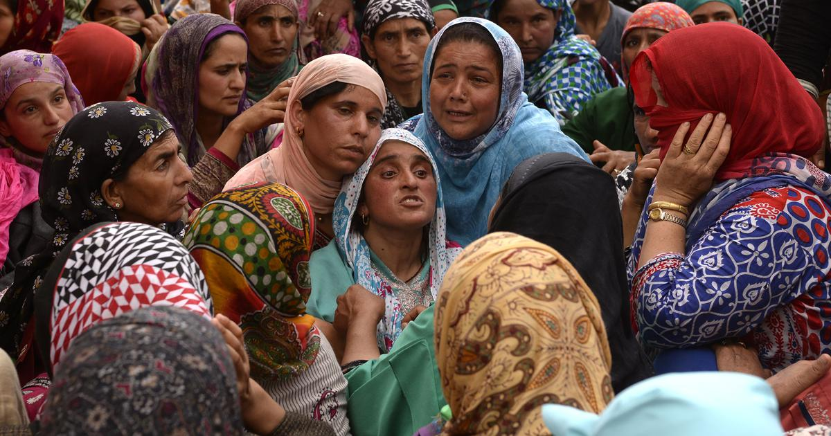 Jammu and Kashmir: Teenager killed in Army firing in Kulgam was a stone pelter, say police