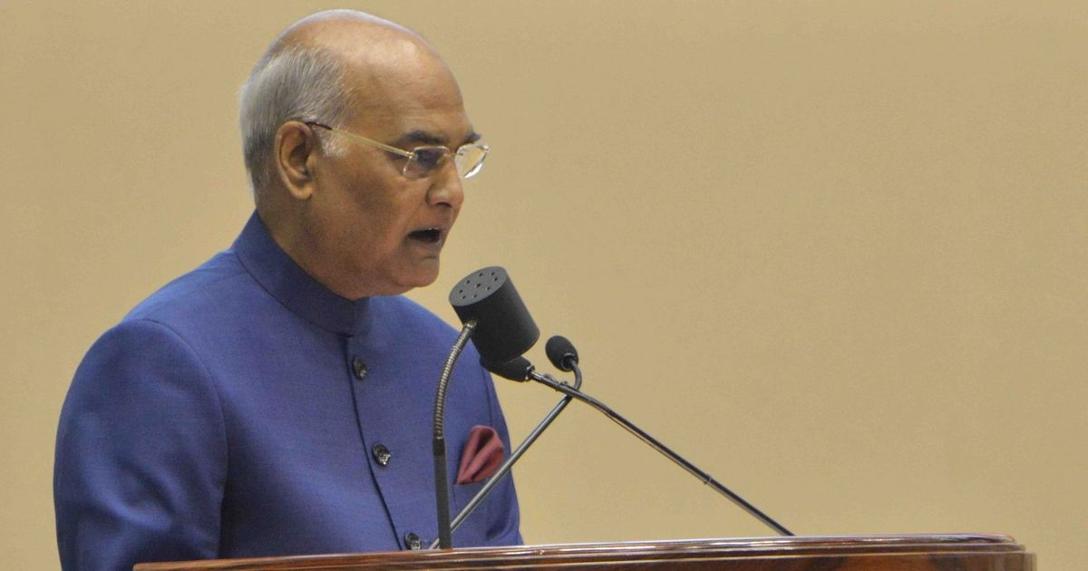 'Crucial to balance right to information and right to privacy,' says President Ram Nath Kovind