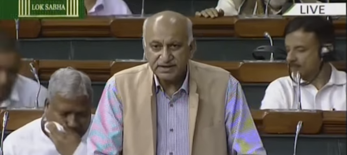 #MeToo: MJ Akbar files defamation case against journalist Priya Ramani for harassment allegations