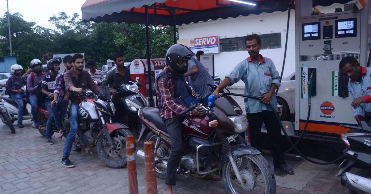 Petrol, diesel prices fall for the first time since October 5