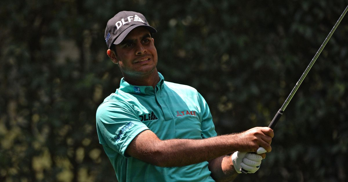 Golf: Shubhankar Sharma off to a shaky start at CJ Cup