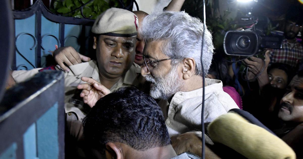 Bhima Koregaon: No coercive action against Gautam Navlakha, Anand Teltumbde, Bombay HC tells police
