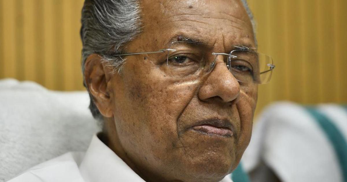 'Sangh Parivar turned Sabarimala into a war zone,' says Kerala Chief Minister Pinarayi Vijayan