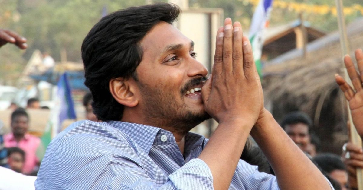 'Act of cowardice', says YSR Congress chief Jagan Mohan Reddy after being stabbed in the arm