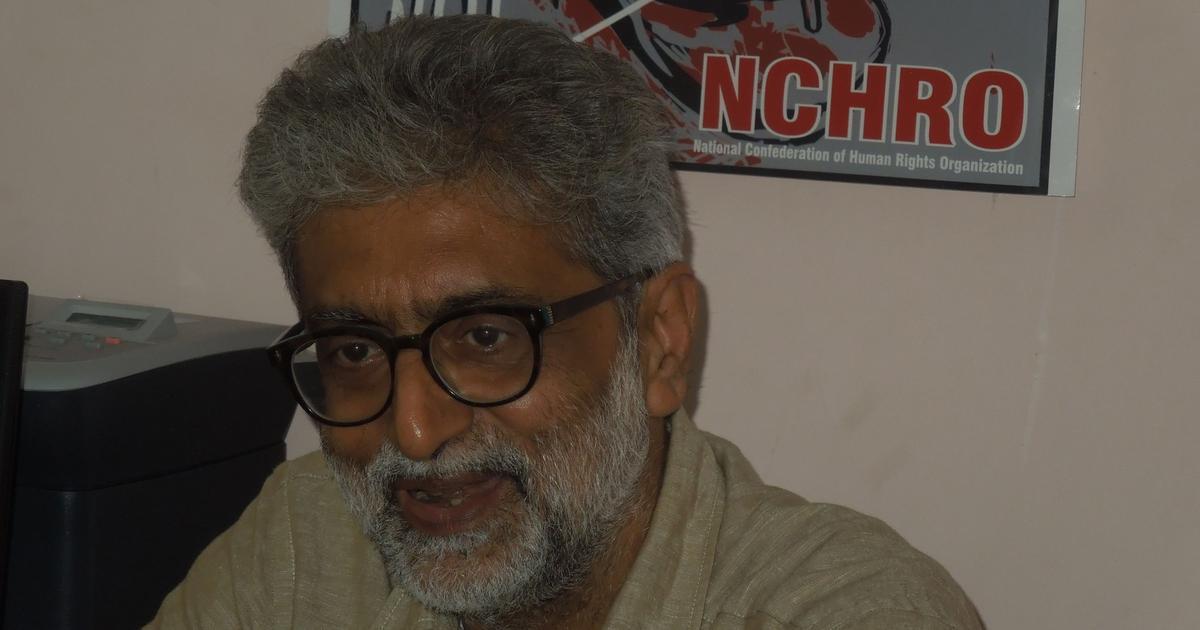 Bhima Koregaon case: Bombay HC grants activist Gautam Navlakha relief from arrest until November 1