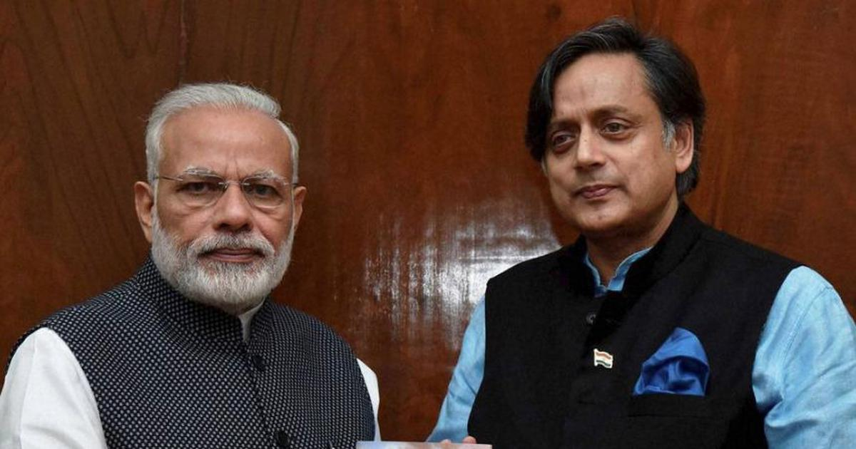 'Modi is like a scorpion sitting on a shivling': Shashi Tharoor triggers row by citing 2012 article
