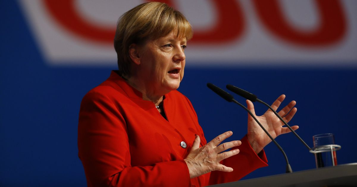 German Chancellor Angela Merkel says she will step down at the end of her term in 2021