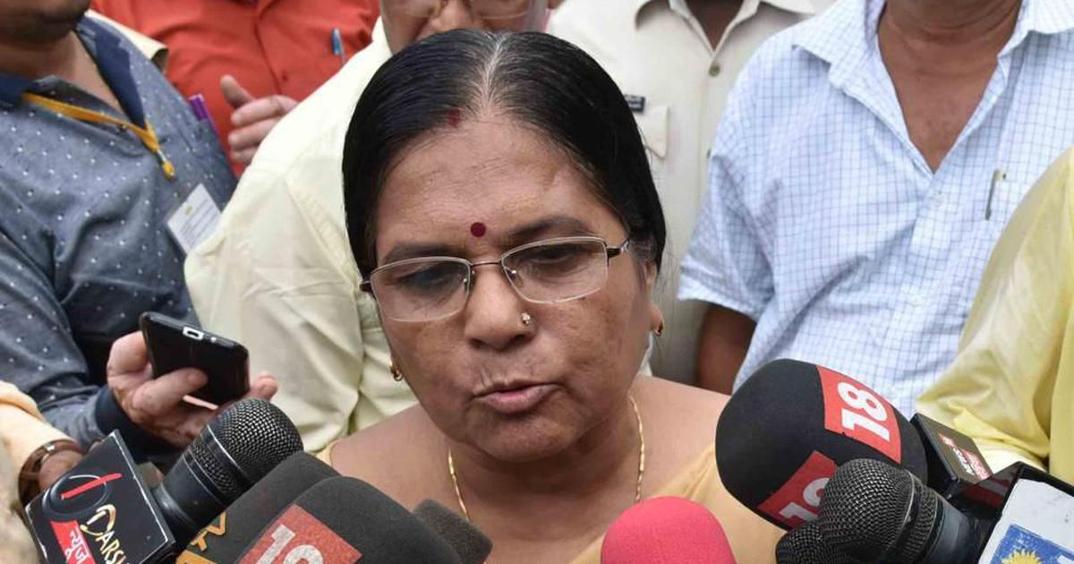 Former Bihar minister Manju Verma's husband surrenders, to be questioned about shelter home rapes