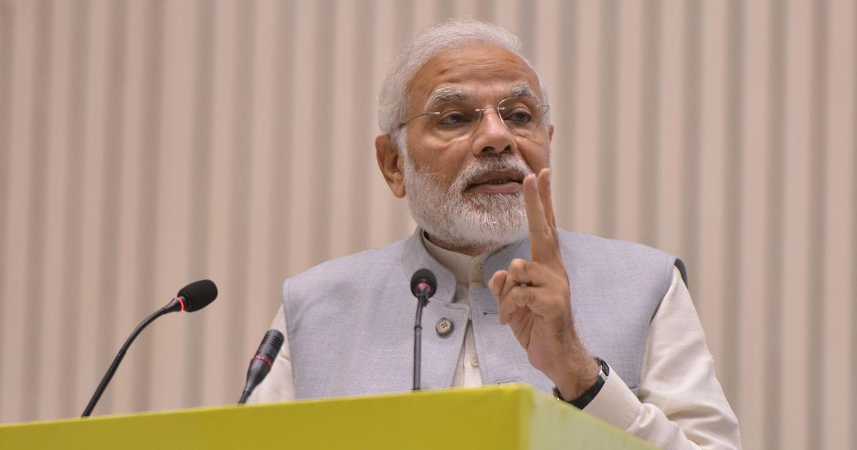 PM Narendra Modi announces service to sanction loans for small businesses within 59 minutes