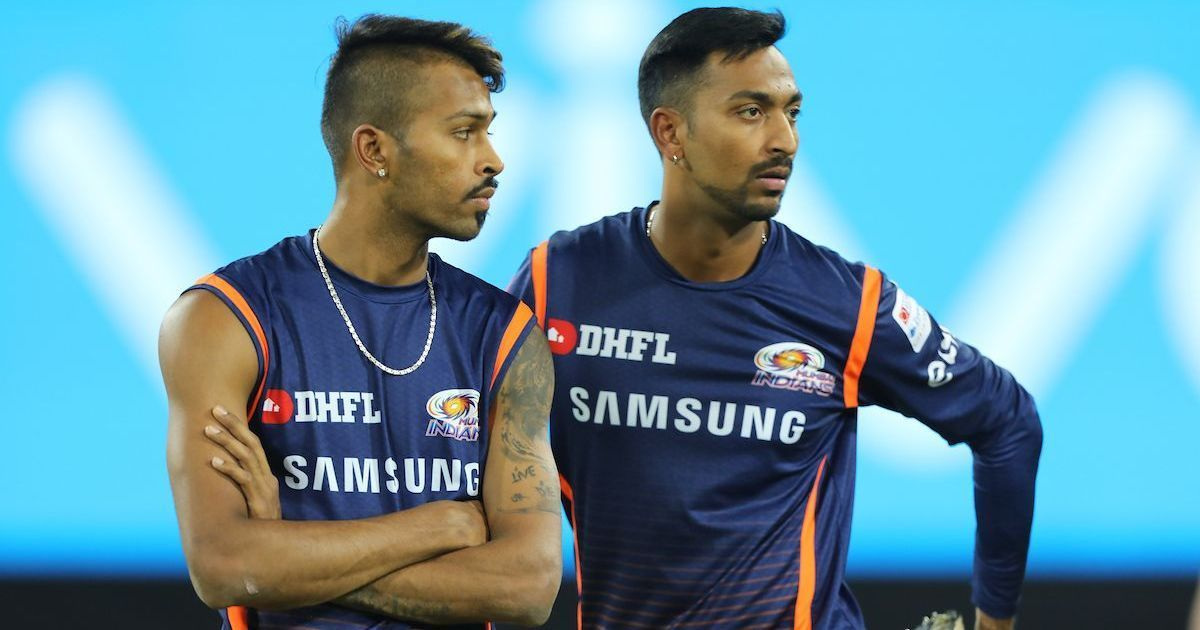 Krunal Pandya named in India's final 12 ahead of first T20 international against West Indies