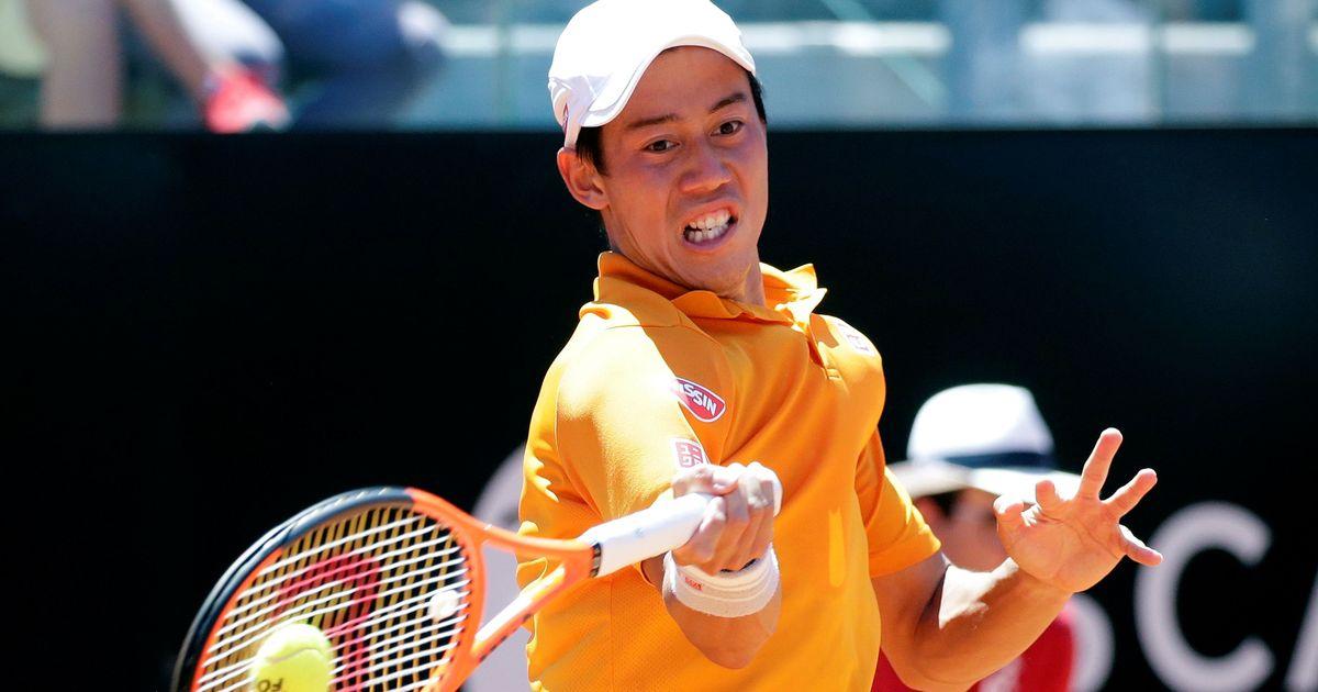 Japan's Kei Nishikori replaces injured Juan Martin del Potro in ATP Finals