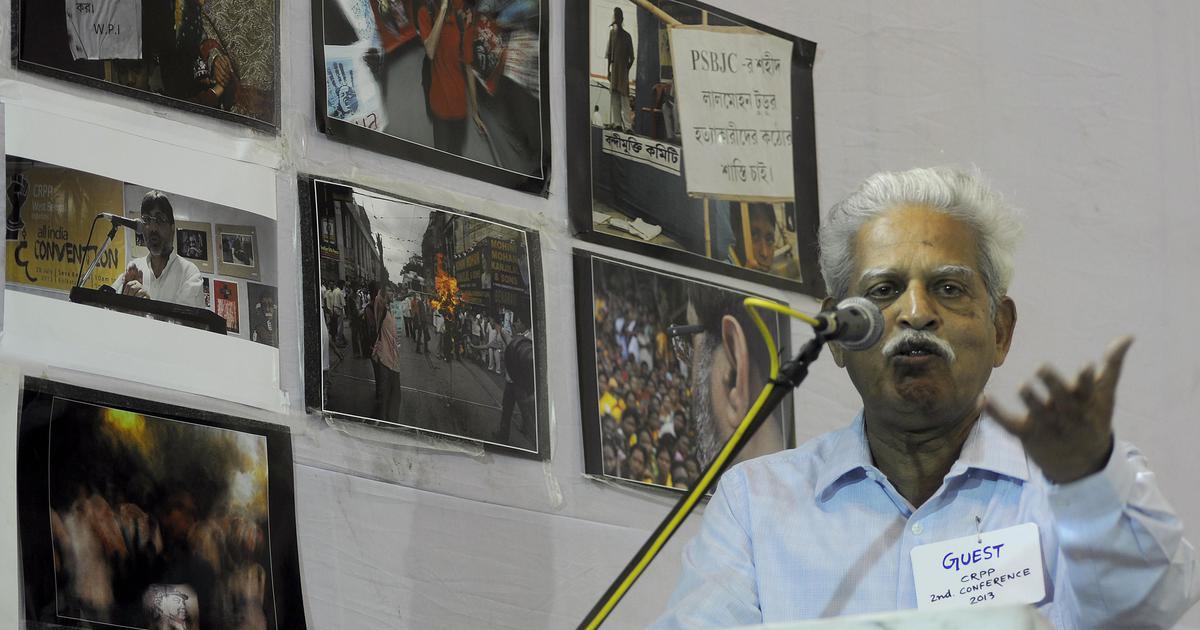 Bhima-Koregaon violence: Activist Varavara Rao taken into custody by Pune police