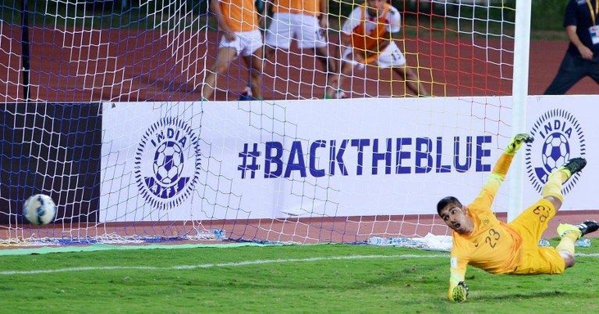 Indian football: Gurpreet Singh Sandhu's blunder against Jordan goes viral globally