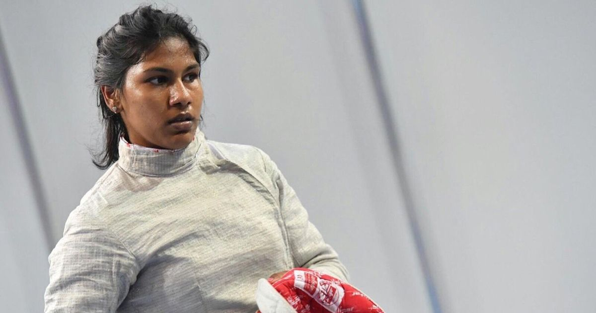 Bhavani Devi clinches gold medal in Senior Commonwealth Fencing championship