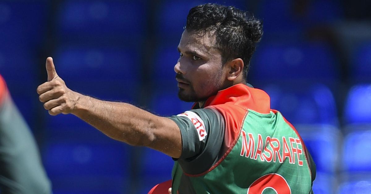 Every conscious, honest Bangladeshi should enter politics: Mashrafe Mortaza defends his decision