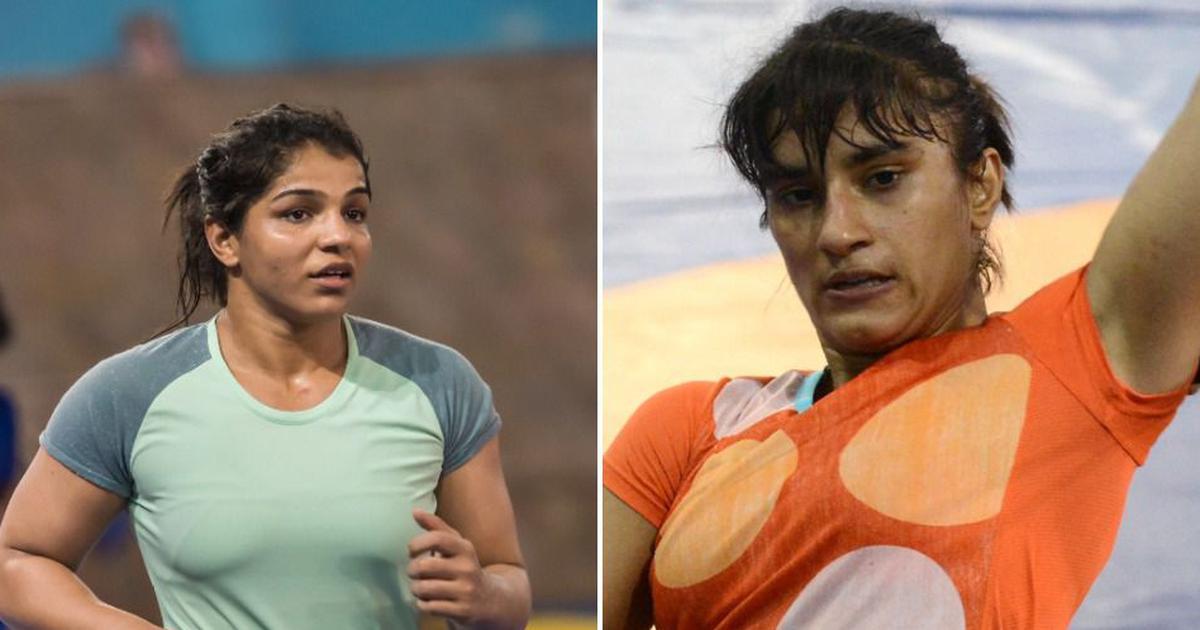 At wrestling nationals, Vinesh Phogat and Sakshi Malik in the spotlight for contrasting reasons
