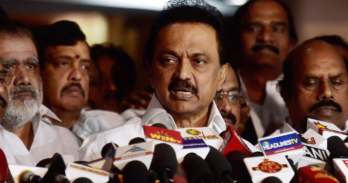 Tamil Nadu: Defamation proceedings against MK Stalin stayed by Madras High Court