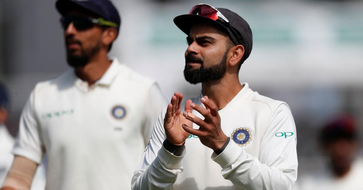 Watch: Virat Kohli shakes a leg during Adelaide Test and gives rise to new meme