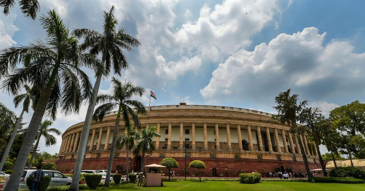 Winter Session: Both Houses of Parliament adjourned on Day 1 after obituaries