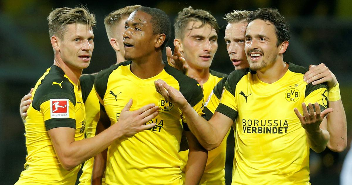 Champions League: Dortmund top group after win over Henry's Monaco, Atletico draw at Brugge