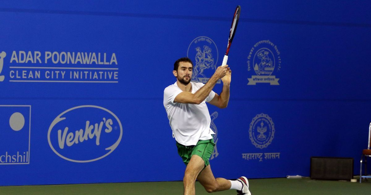 Marin Cilic pulls out of season-opening Maharashtra Open with knee injury