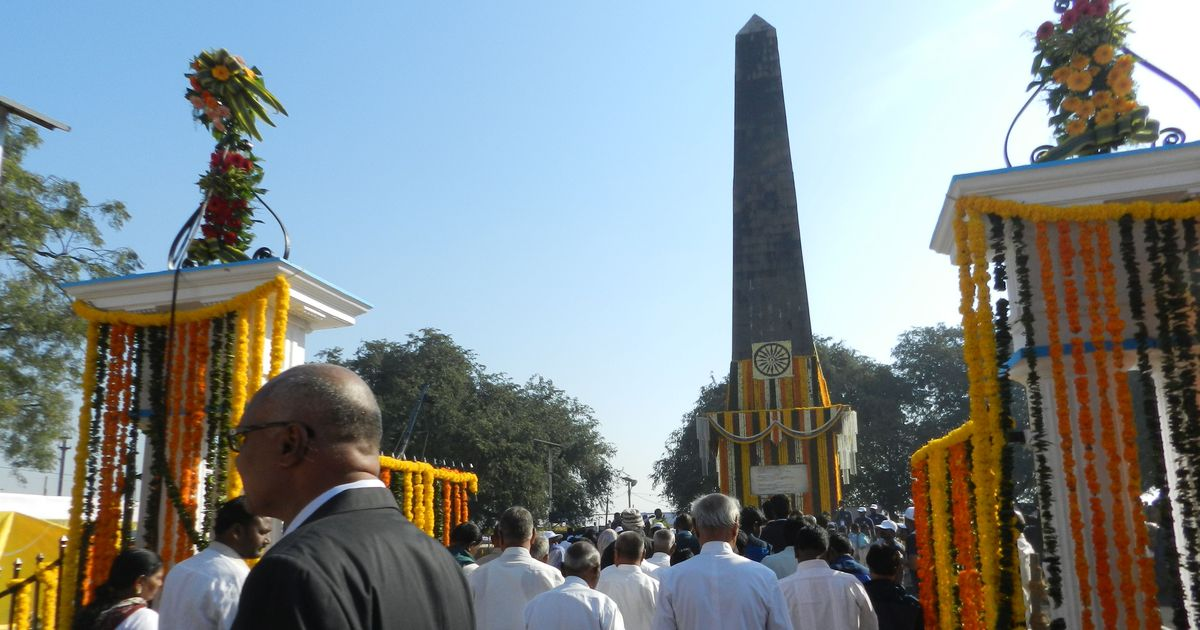 Maharashtra: Security stepped up as lakhs of people commemorate Battle of Bhima Koregaon