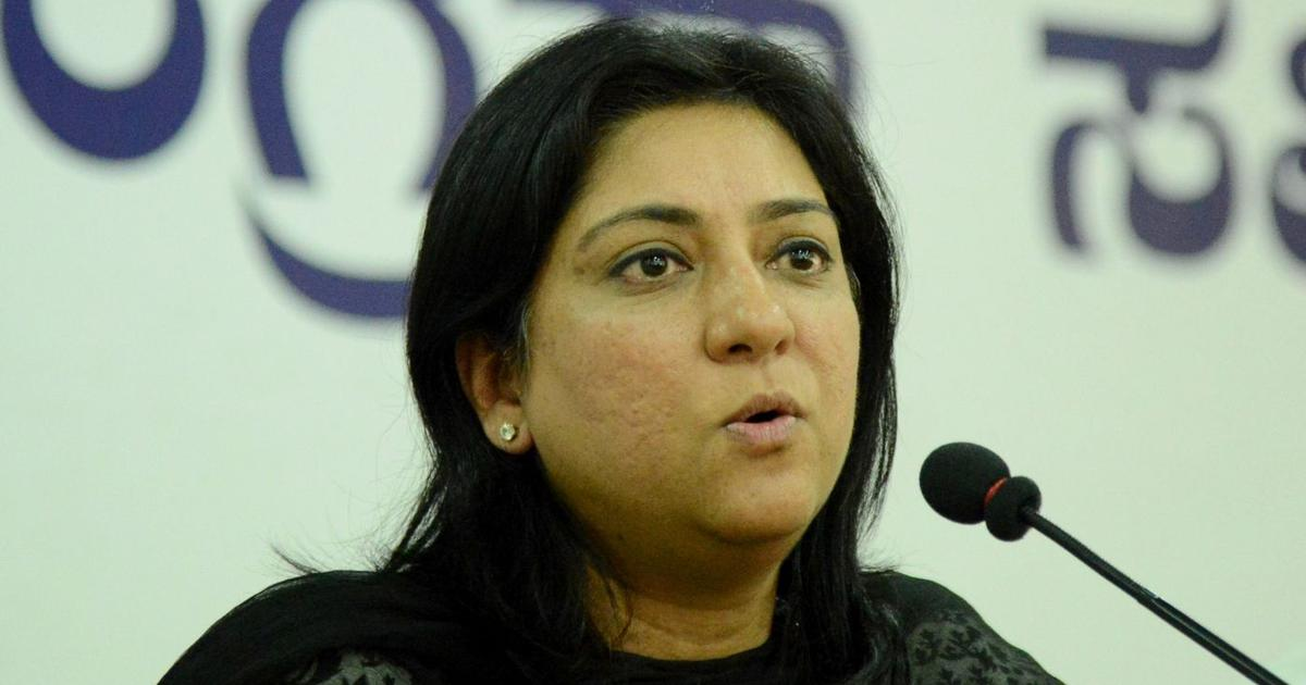 Congress leader Priya Dutt says she will not contest 2019 General Elections