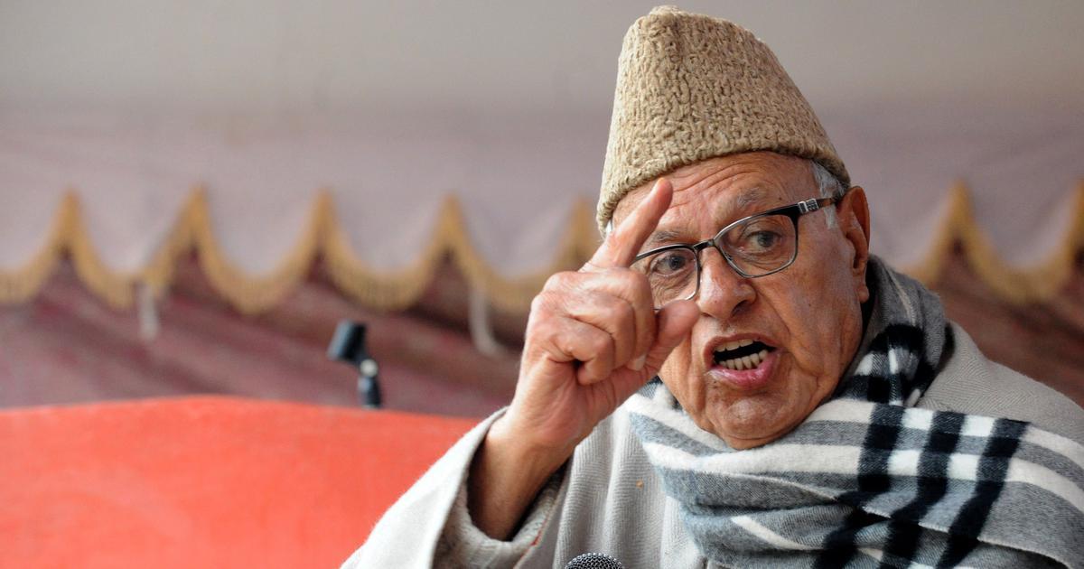Jammu and Kashmir: Former CM Farooq Abdullah says Hurriyat must be included in peace talks