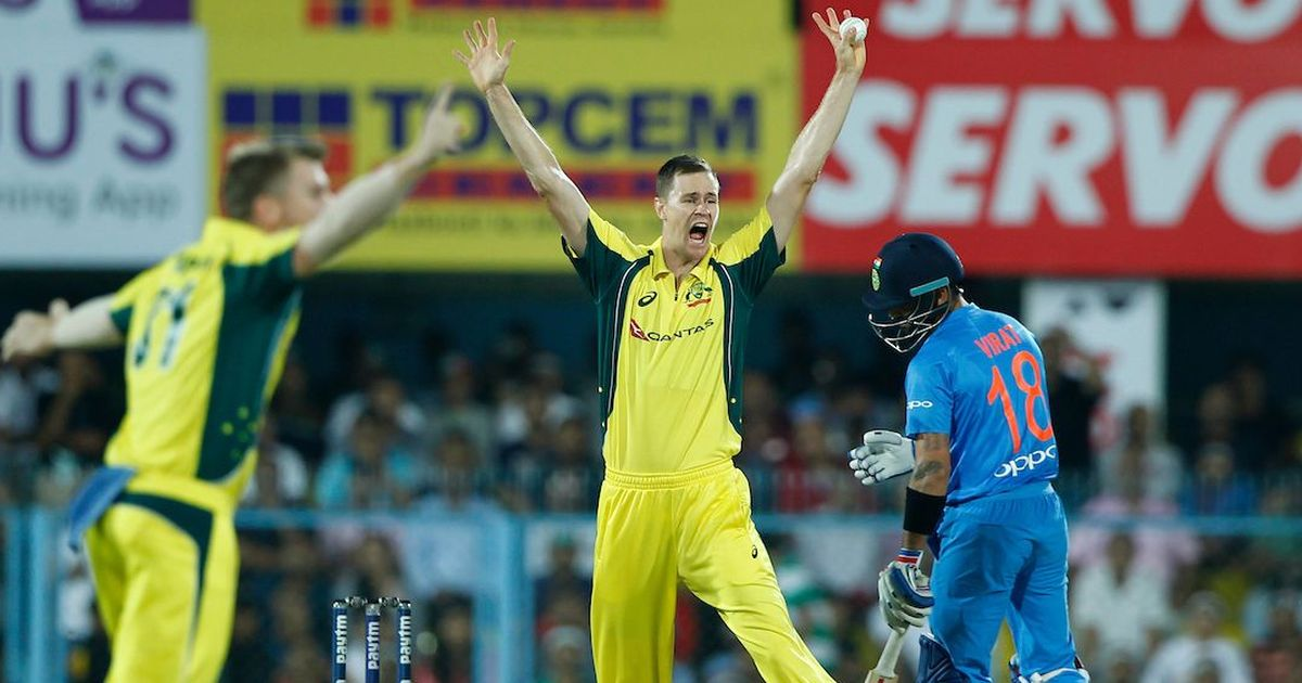 I joked that I would love to have a wicket in my first ODI over, and it happened: Jason Behrendorff