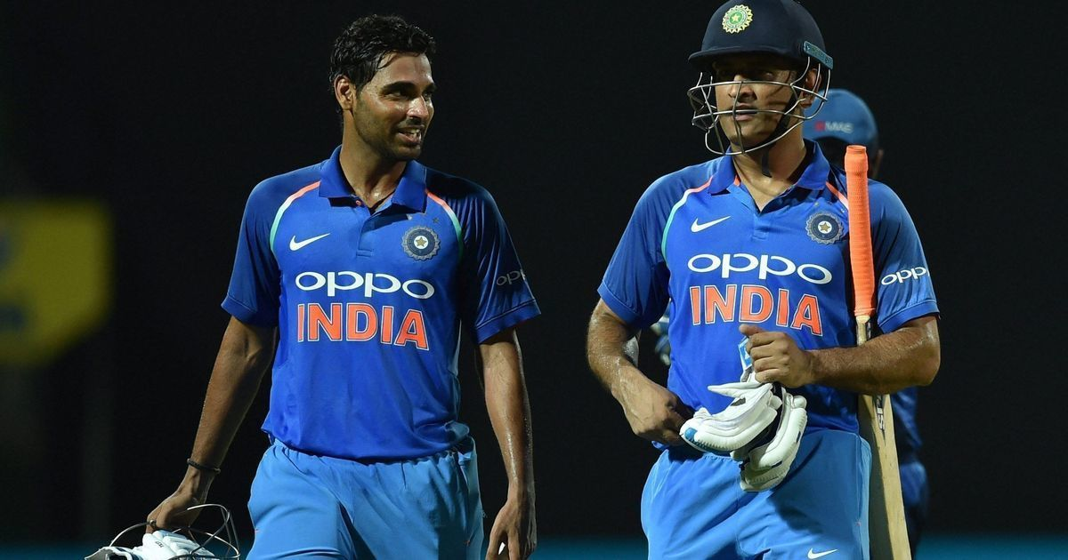 Australia vs India: MS Dhoni can bat pretty well anywhere in the order, says Bhuvneshwar Kumar