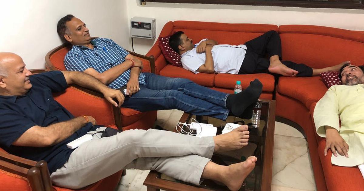 Supreme Court dismisses plea against Arvind Kejriwal's strike outside lieutenant governor's office