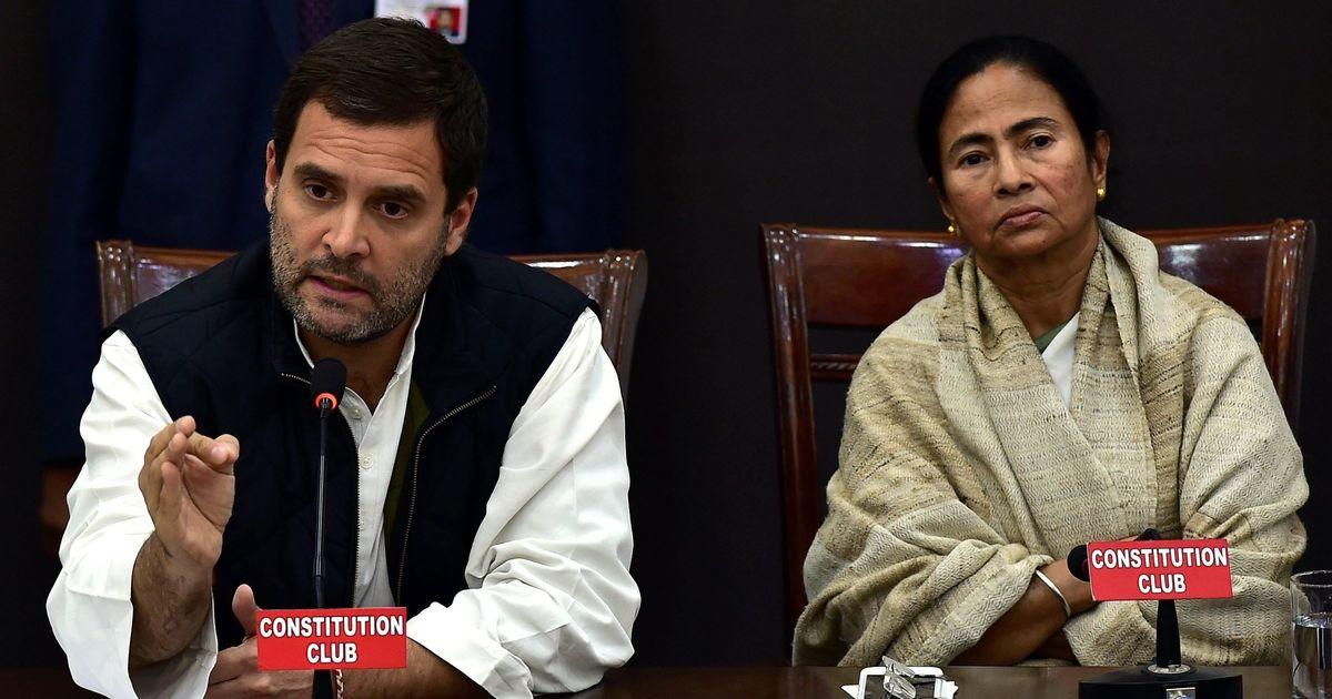 Grand alliance: Rahul Gandhi writes to Mamata Banerjee, extends support for Kolkata rally