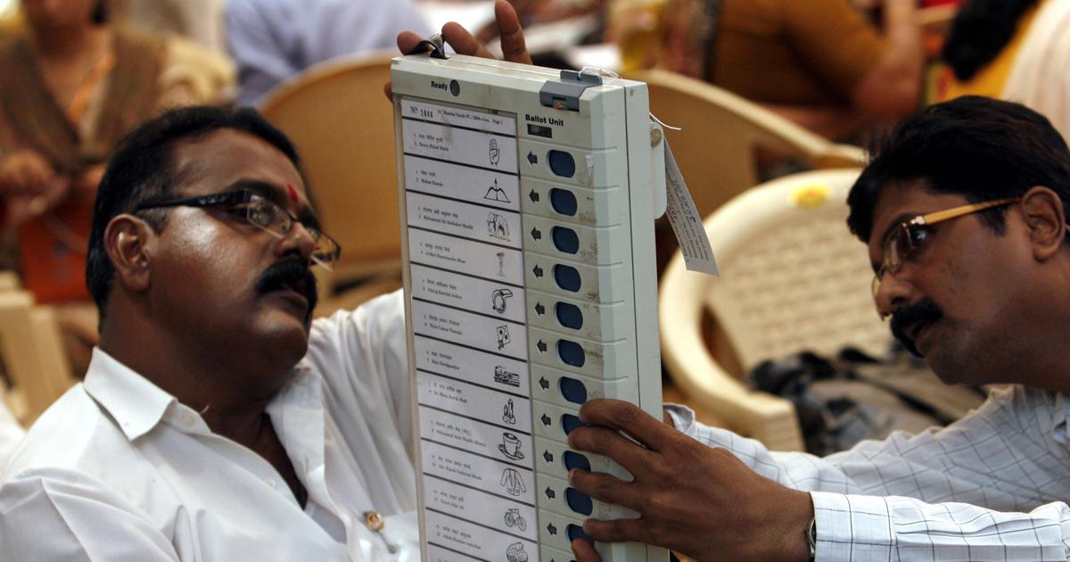 The big news: Election Commission reiterates that EVMs cannot be hacked, and nine other top stories