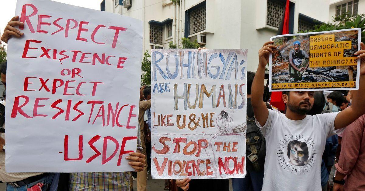 31 Rohingyas stranded on Bangladesh border handed over to Tripura Police
