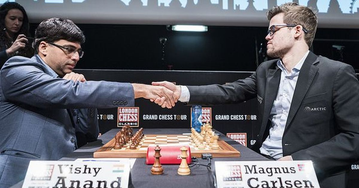 Tata Steel Chess: Magnus Carlsen on top after beating Viswanathan Anand in Round 10