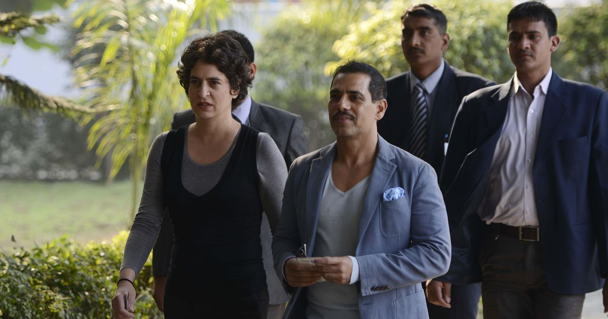 Robert Vadra appears before Enforcement Directorate for questioning in money laundering case