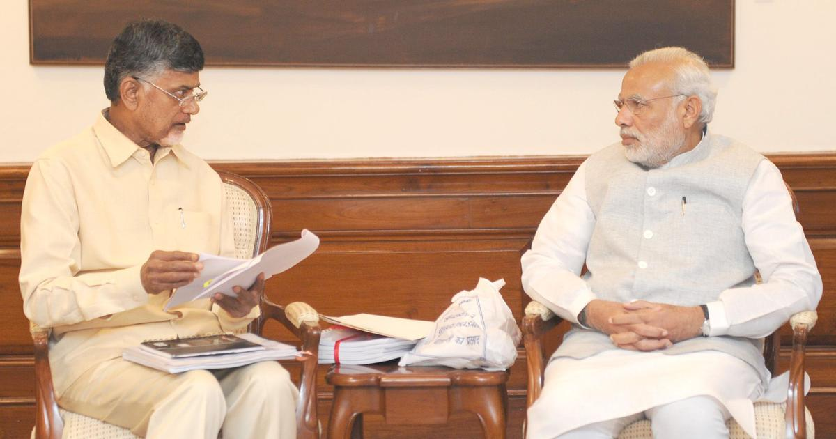 The big news: Modi claims Chandrababu Naidu is forcing his son on Andhra, and 9 other top stories