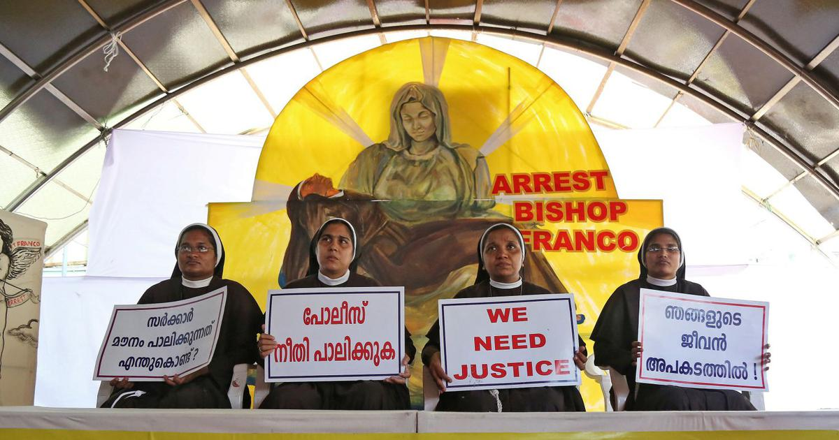 Kerala rape case: Facing contradictory orders, protesting nuns refuse to leave the convent