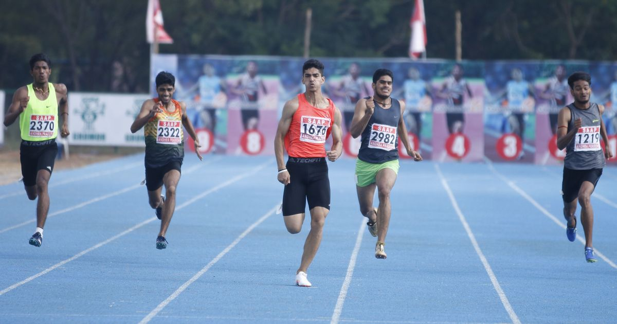 Sprinter Nisar Ahmed among 41 athletes declared over-age at Youth Nationals