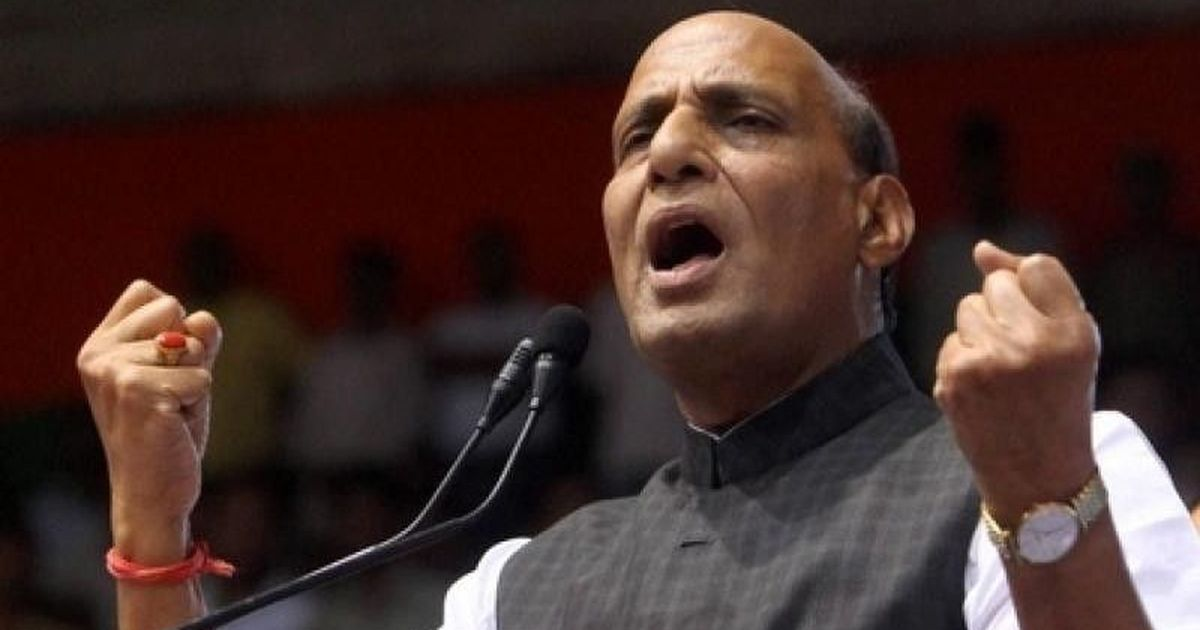 IAF air strikes: Rajnath Singh says government agency confirmed 300 cellphones in use in target area