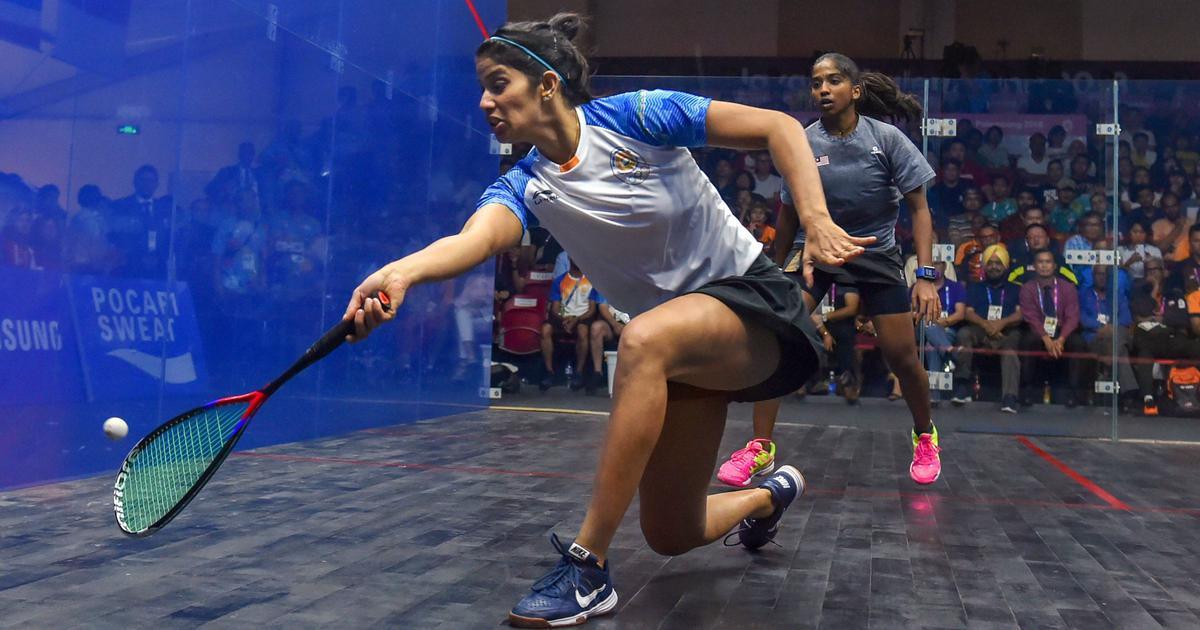 Squash: Joshna Chinappa's impressive run at Black Ball Open ends in quarter-finals