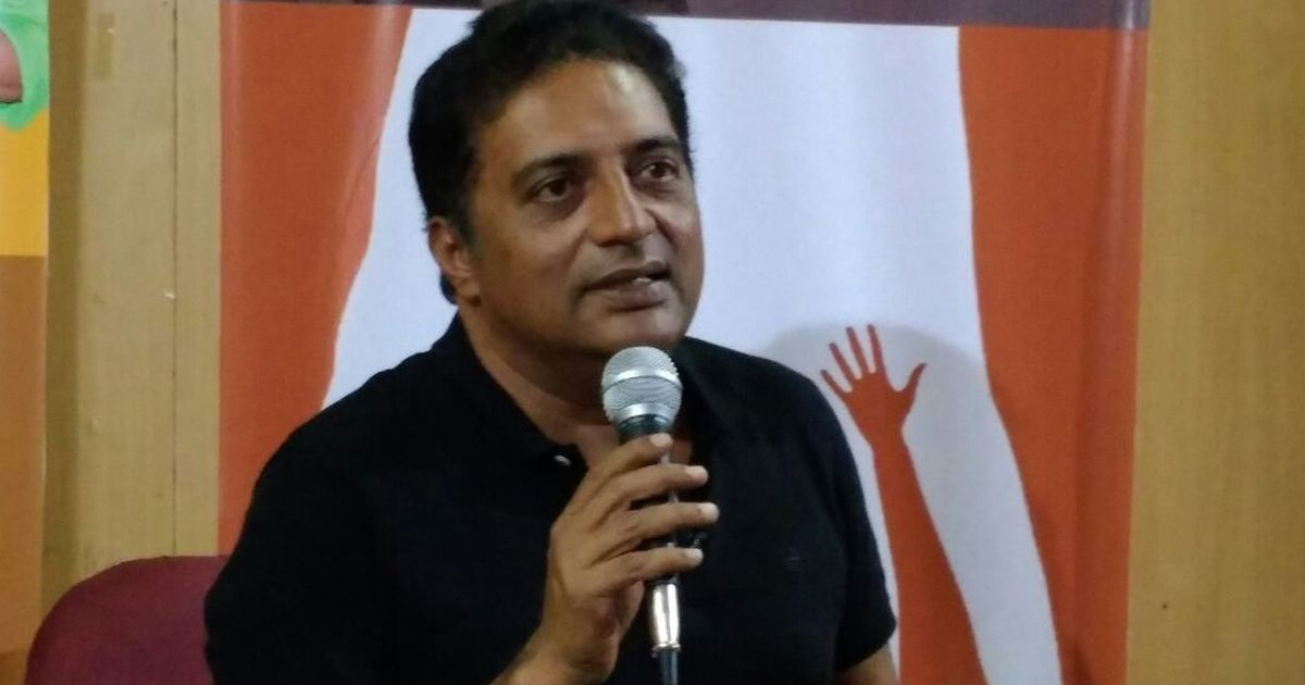 Election Commission books Prakash Raj for allegedly violating Model Code of Conduct: Reports