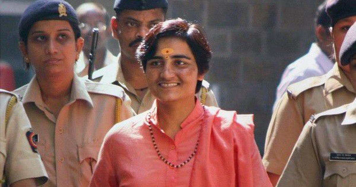 Malegaon blasts accused Pragya Singh Thakur joins BJP, to contest against Digvijaya Singh in Bhopal