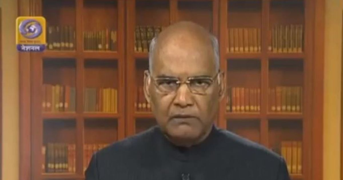 Ram Nath Kovind may have been appointed president because of his caste, claims Rajasthan CM
