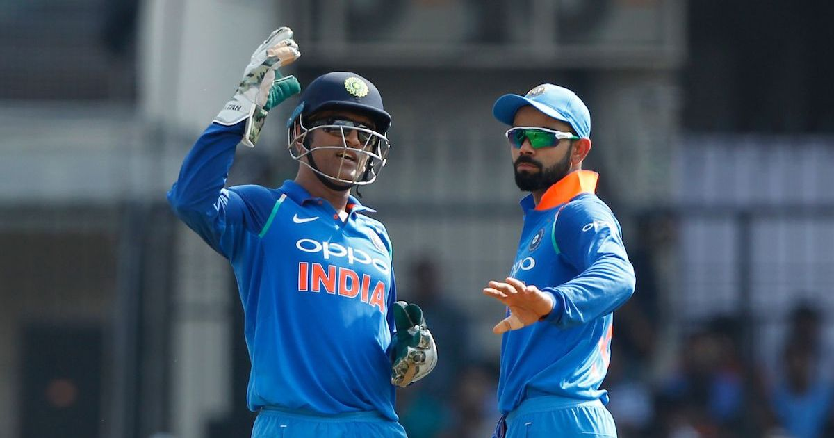 MS Dhoni knows the game inside out and understands things from ball one to 300, says Virat Kohli