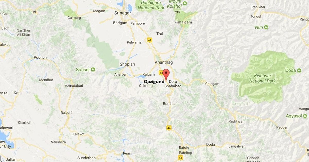 Jammu and Kashmir: Police find burnt currency notes after truck catches fire in poll-bound Anantnag