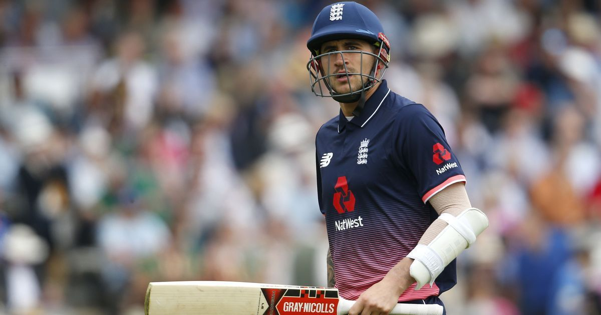Cricket World Cup 2019: Opener Alex Hales omitted from England's squad after drugs ban