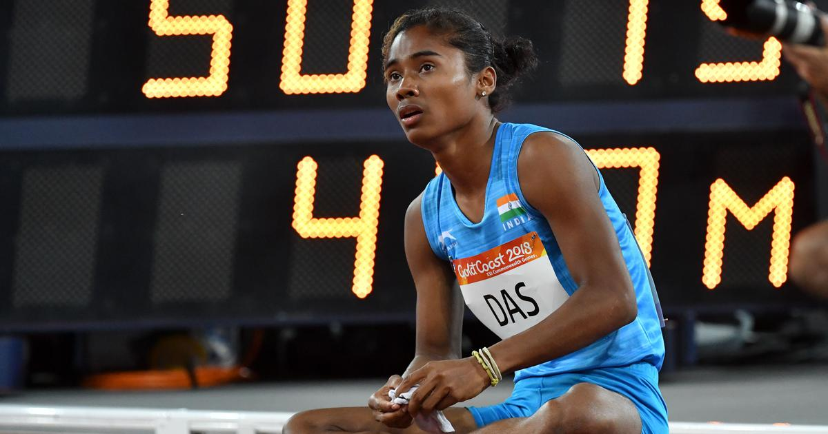 Athletics: Sprinter Hima Das doubtful for World Relays after being diagnosed with spondylitis