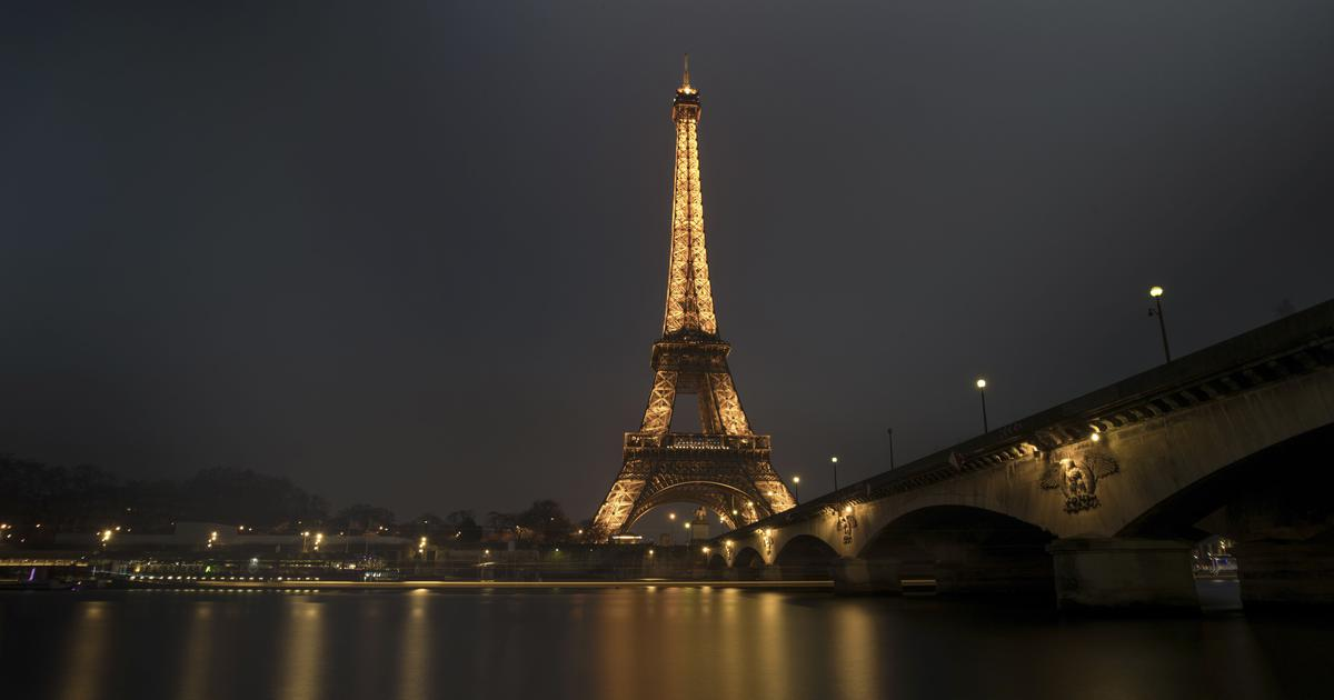 France: Eiffel Tower evacuated and closed after man spotted scaling the structure